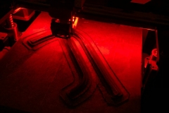 Yaris vortex generator prototype printing